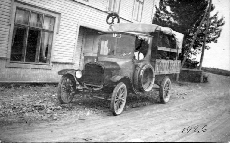 Taivassalon ensimmäinen kuorma-auto